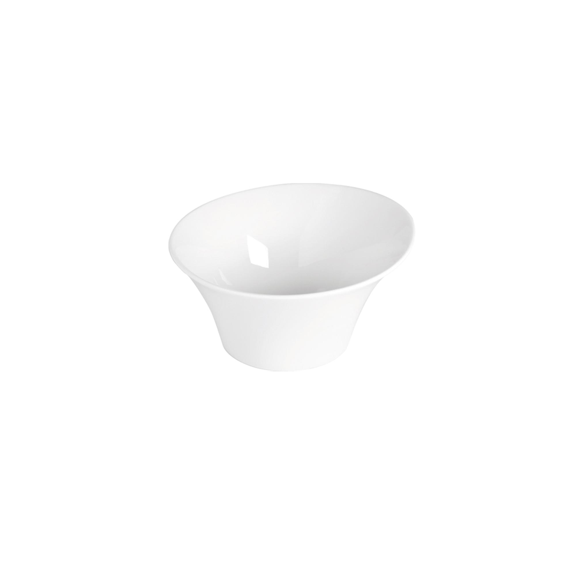Coupelle en porcelaine blanche blanc 11 cm - Lot de 6