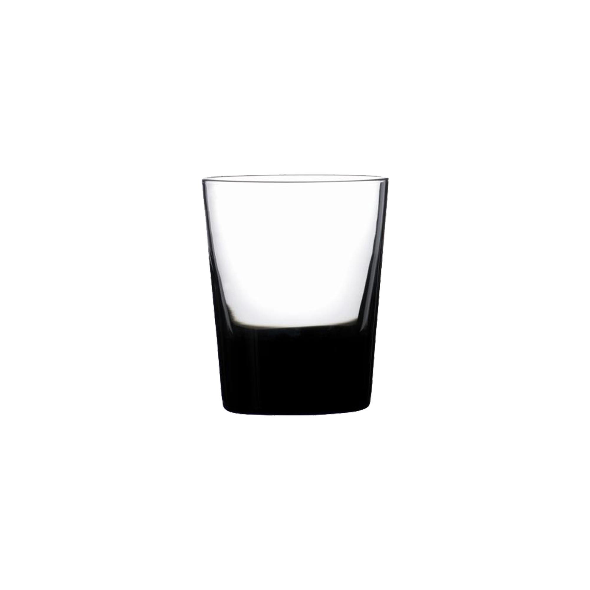 Gobelet en verre soufflé bouche noir 39 cl - Lot de 6
