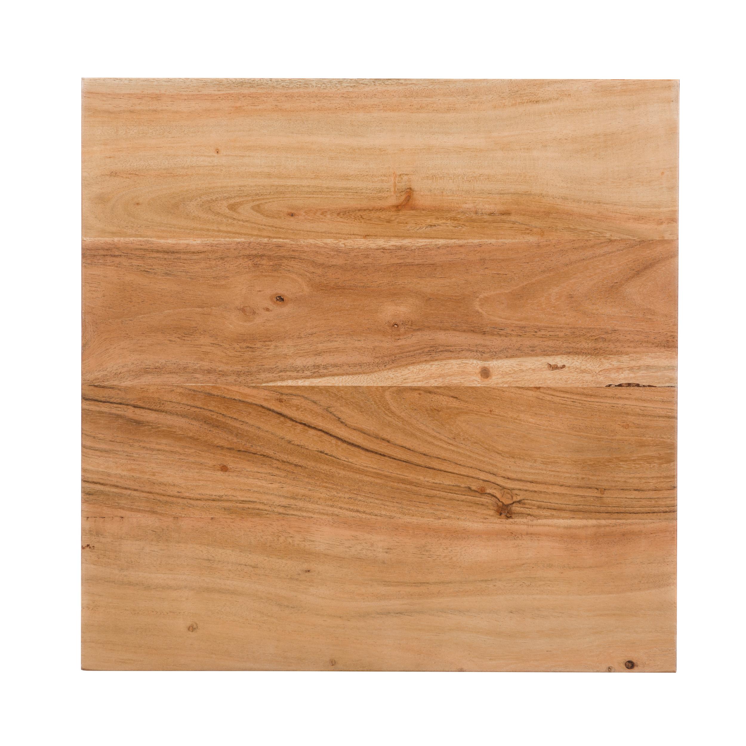 Table d'appoint Maho en acacia et métal
