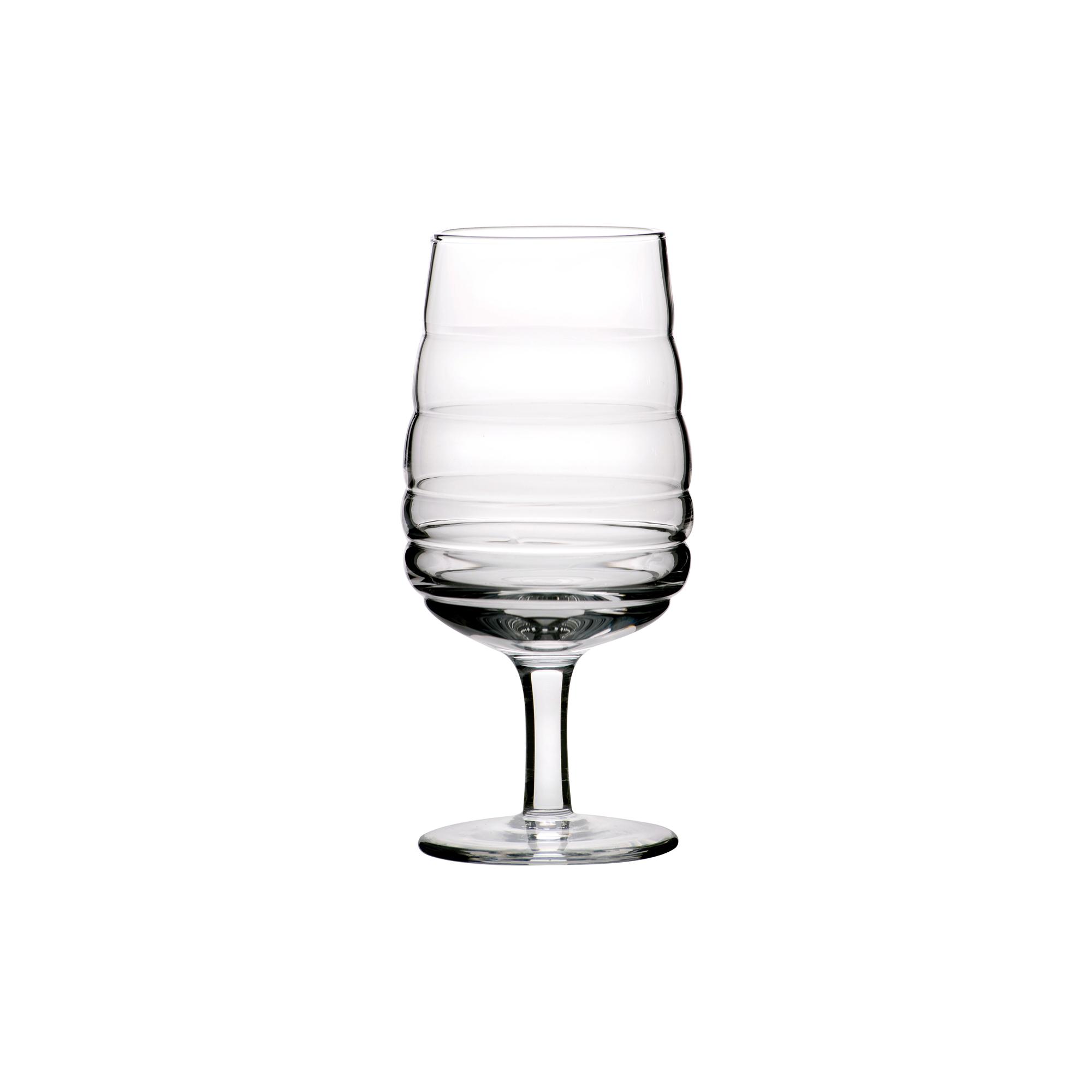 Verre à vin en verre soufflé bouche 25 cl - Lot de 6