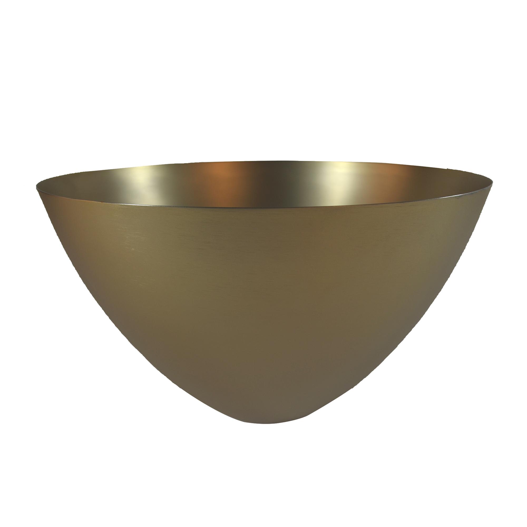 Coupe en aluminium or D29,5cm
