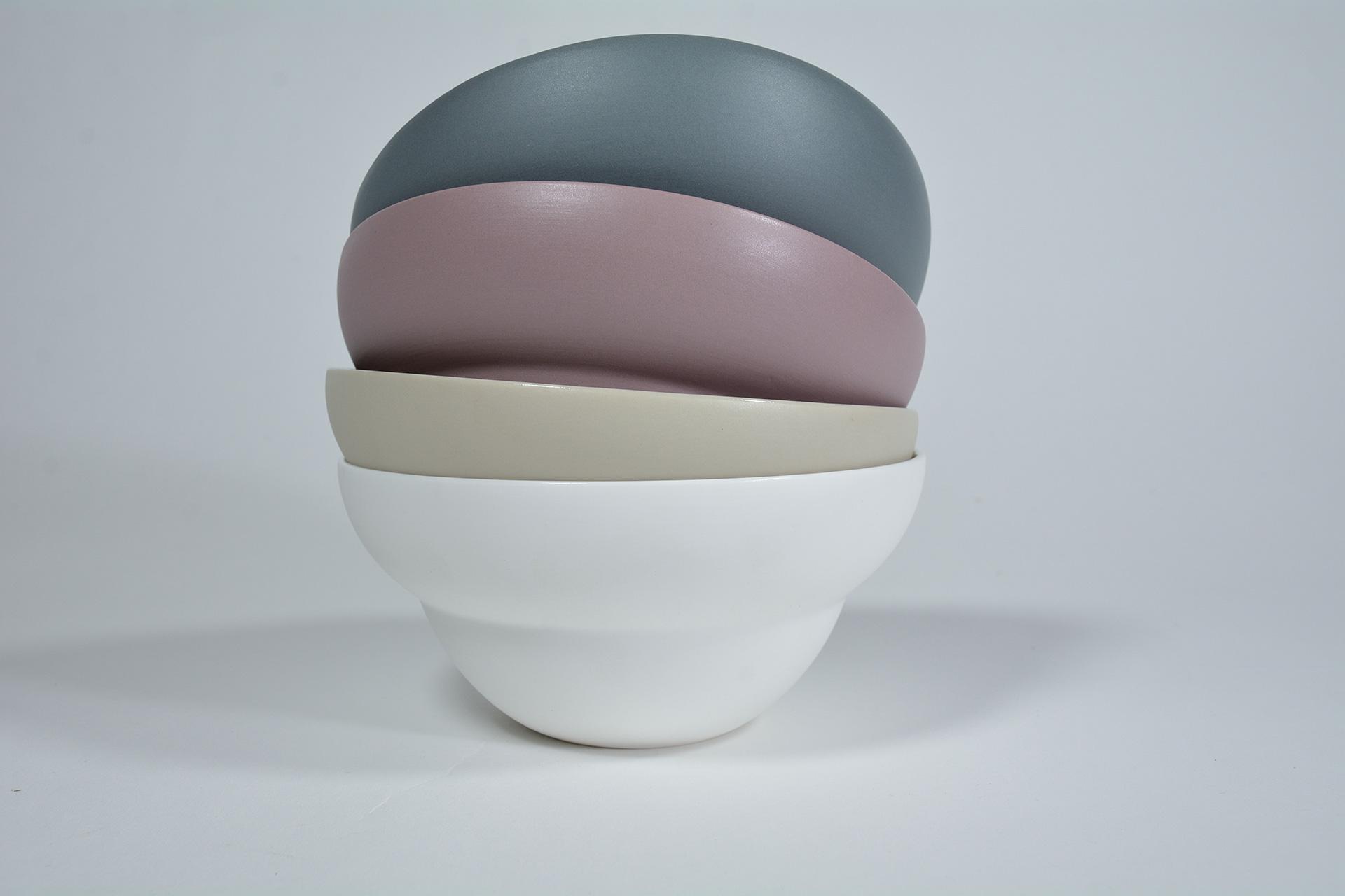 Coupelle en porcelaine blanc 17.5 cm - Lot de 6