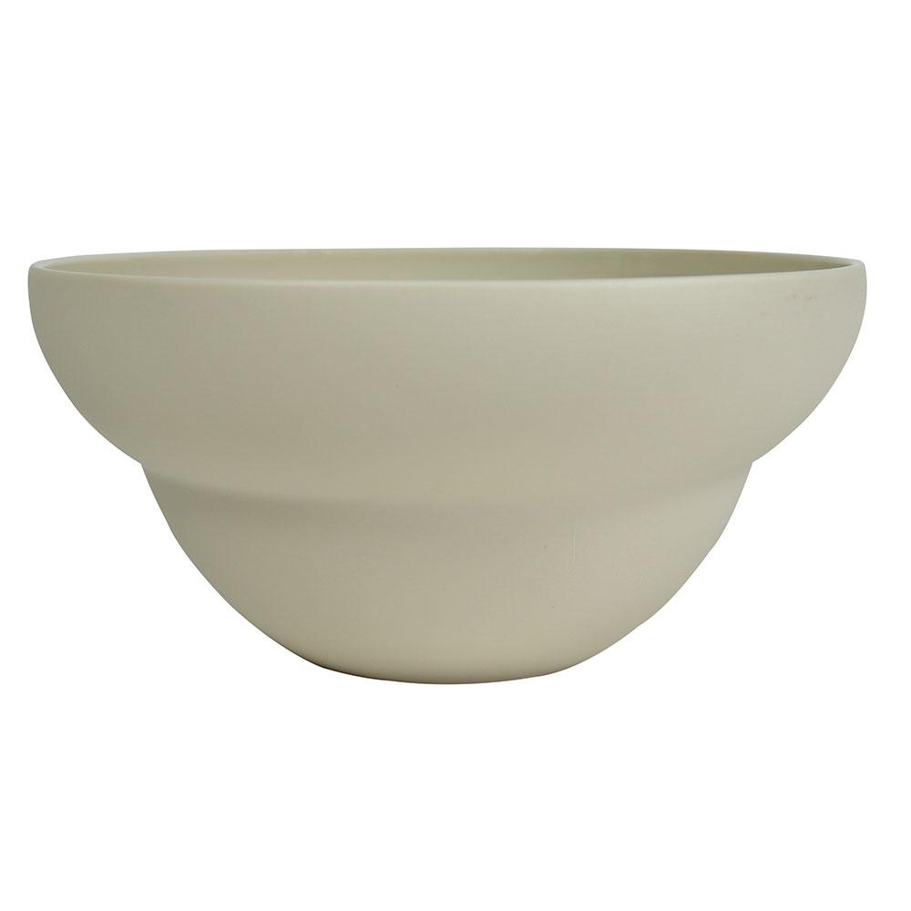 Coupelle en porcelaine beige 17.5 cm - Lot de 6