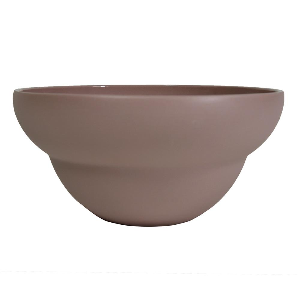 Coupelle en porcelaine rose 17.5 cm - Lot de 6