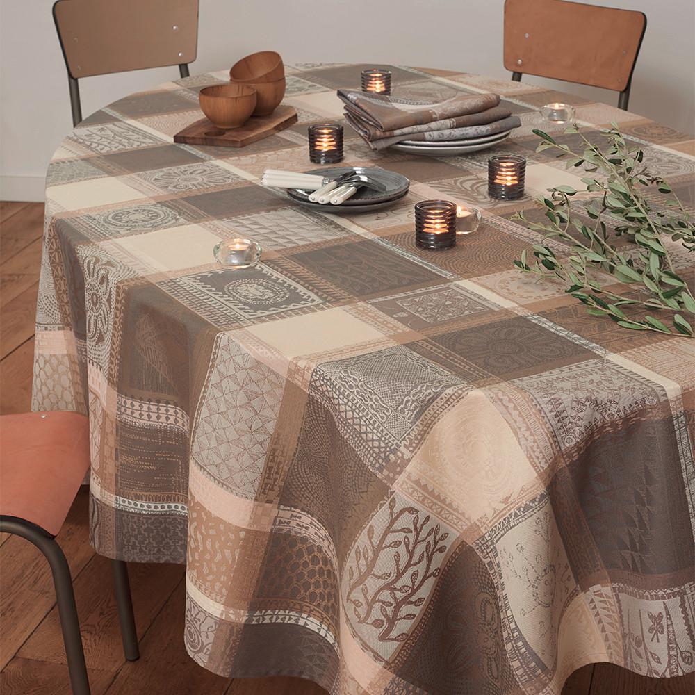 Nappe carrée pur coton 180x180