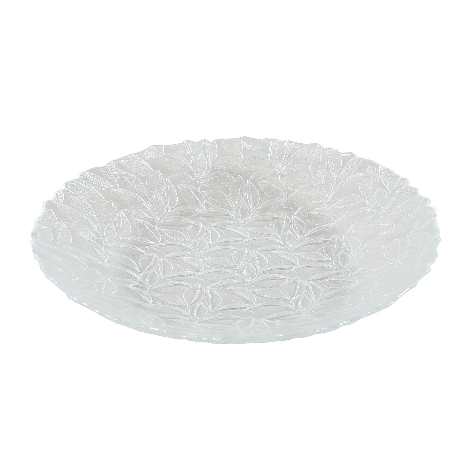 Saladier en verre pressé 33 cm - Lot de 6