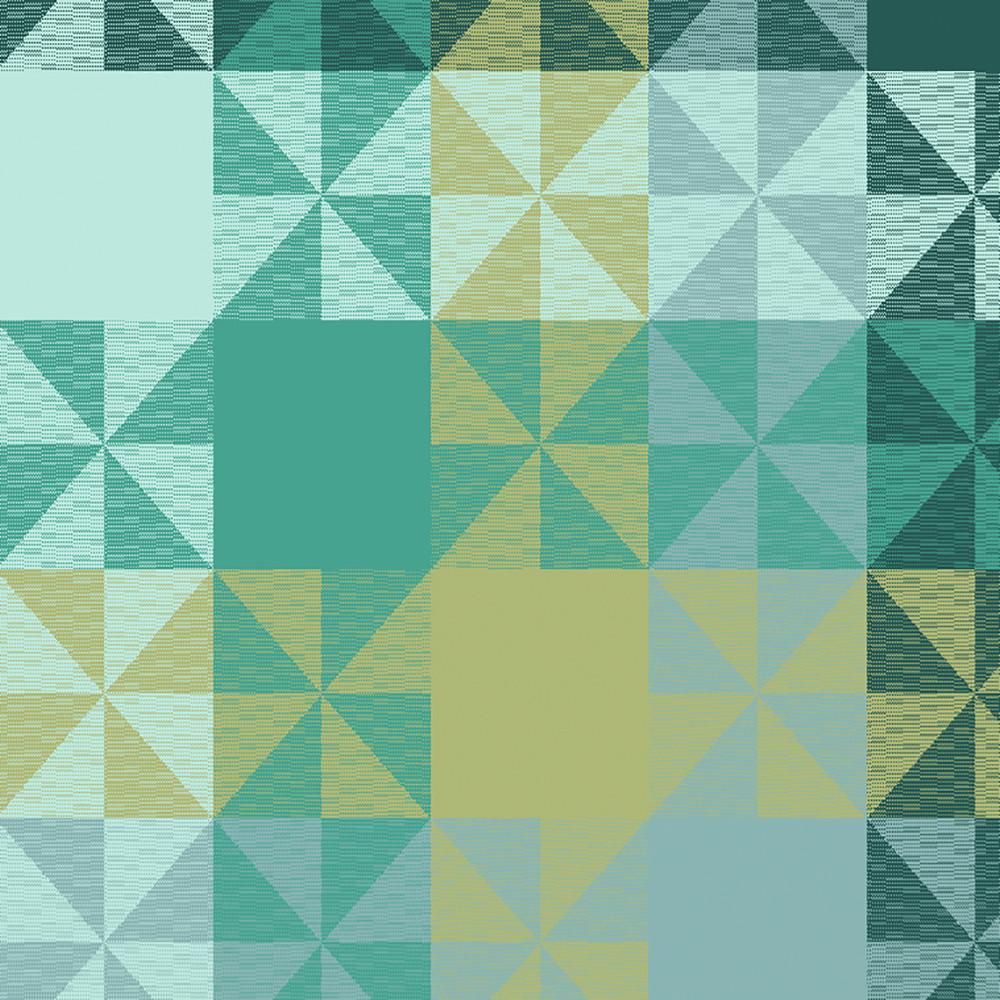 Serviette pur coton vert 48X48