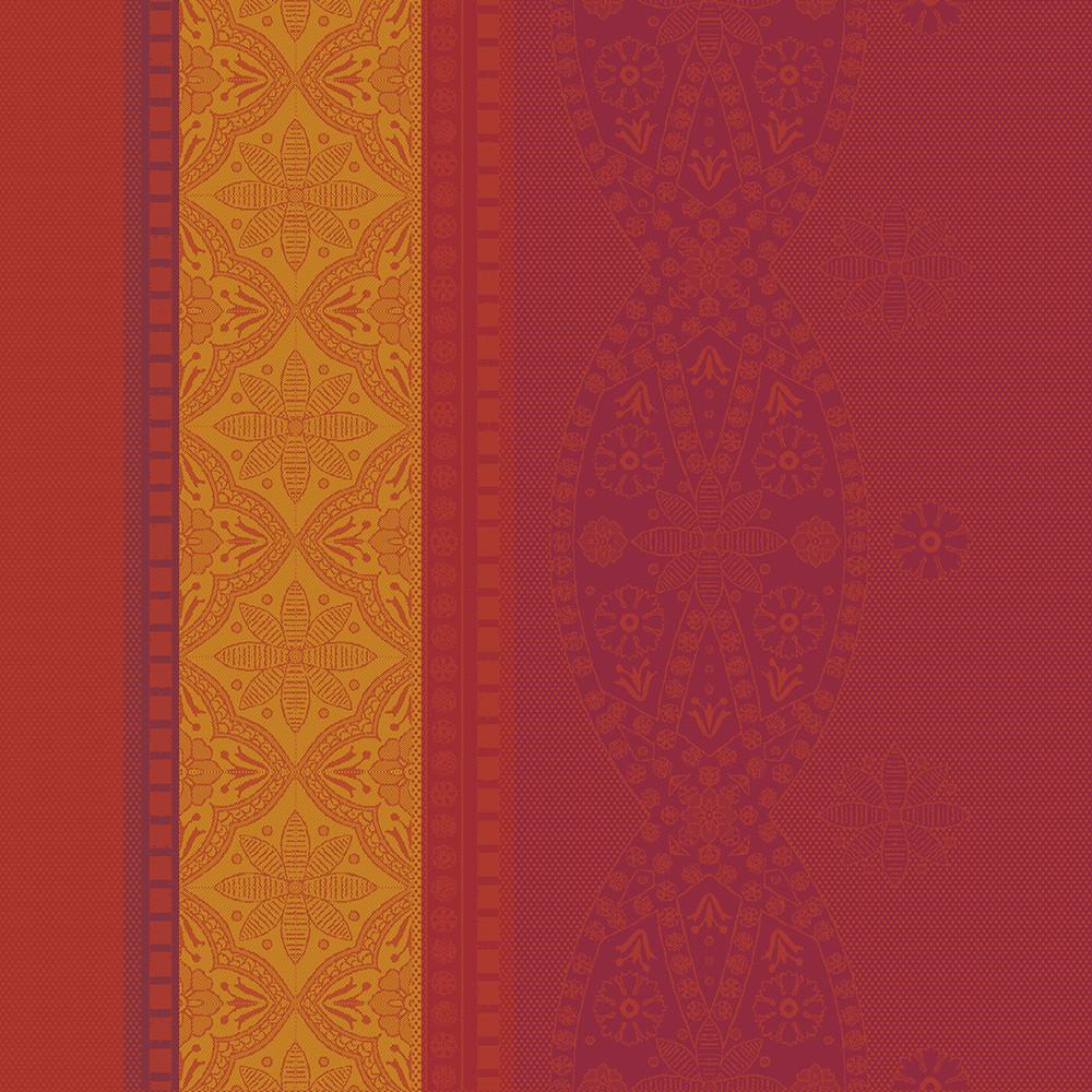 Serviette pur coton orange 55x55