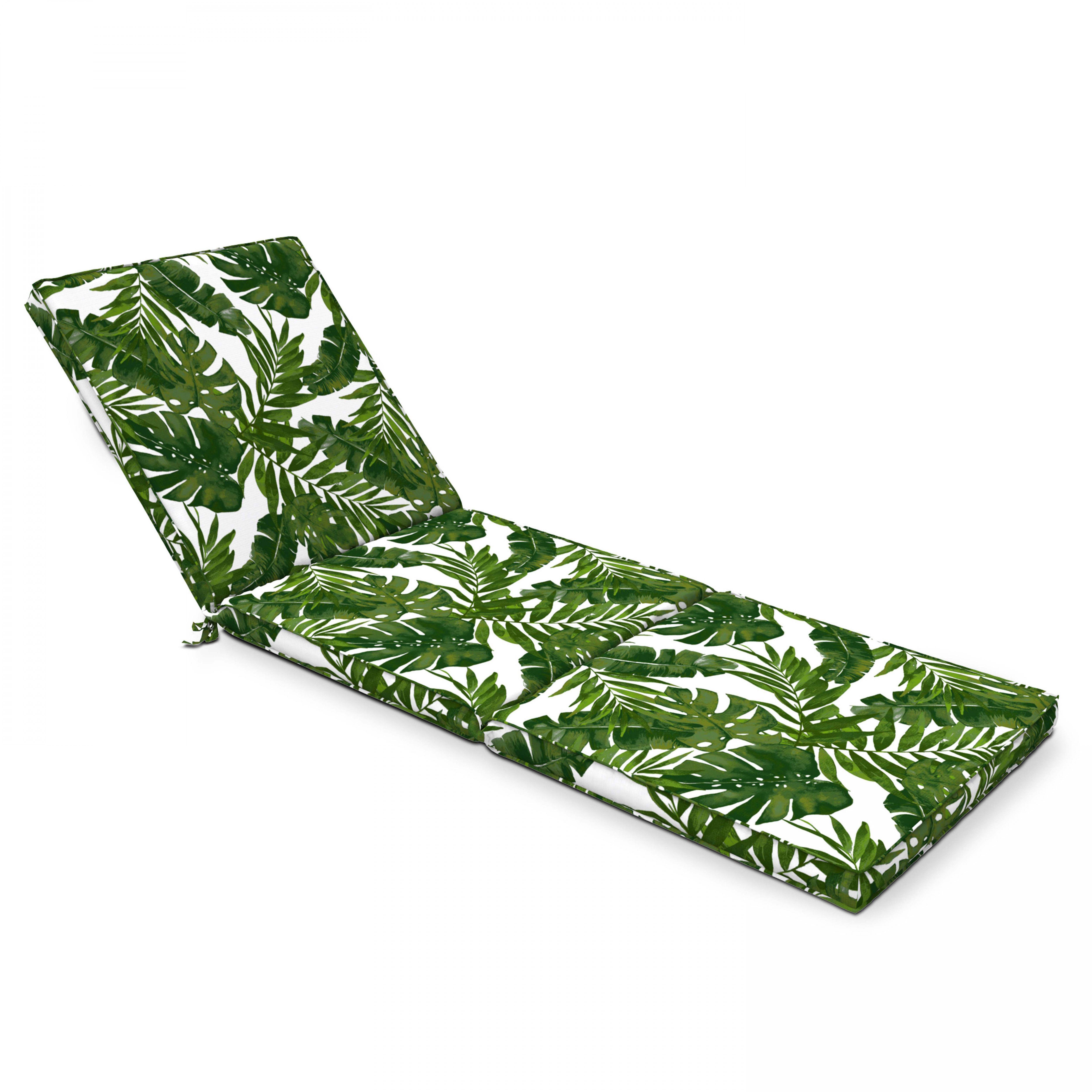 Coussin pour bain de soleil  en polyester vert