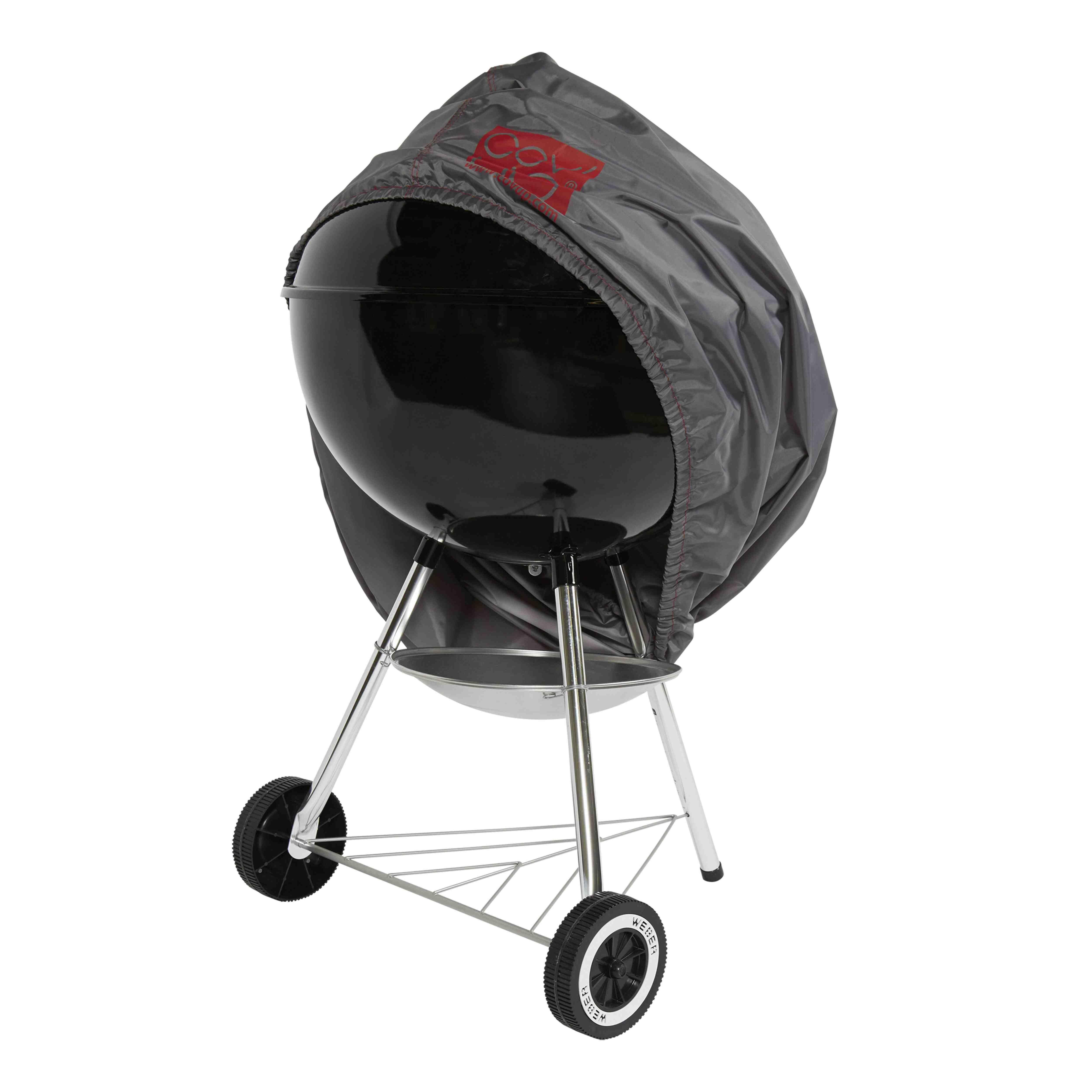 Housse de protection pour Barbecue en polyester gris