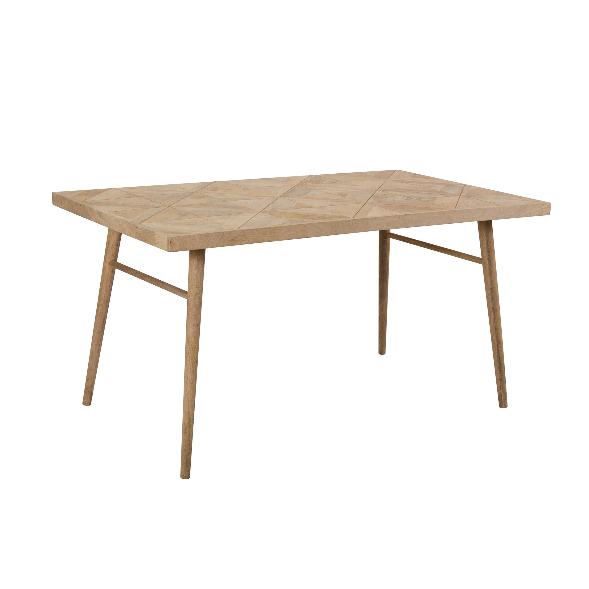 Table rectangulaire 150 cm en bois