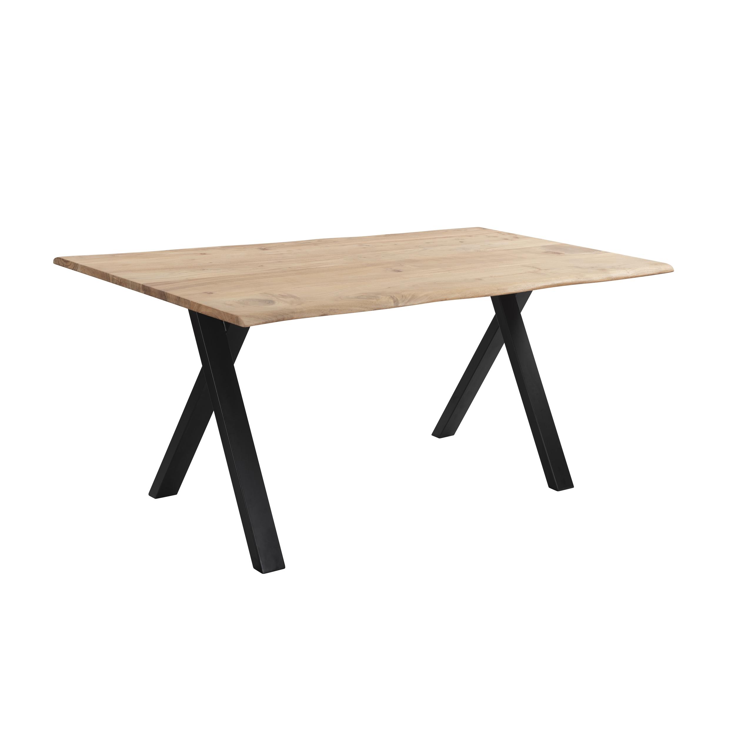 maison du monde Table à manger rectangulaire en bois, 6-8 personnes