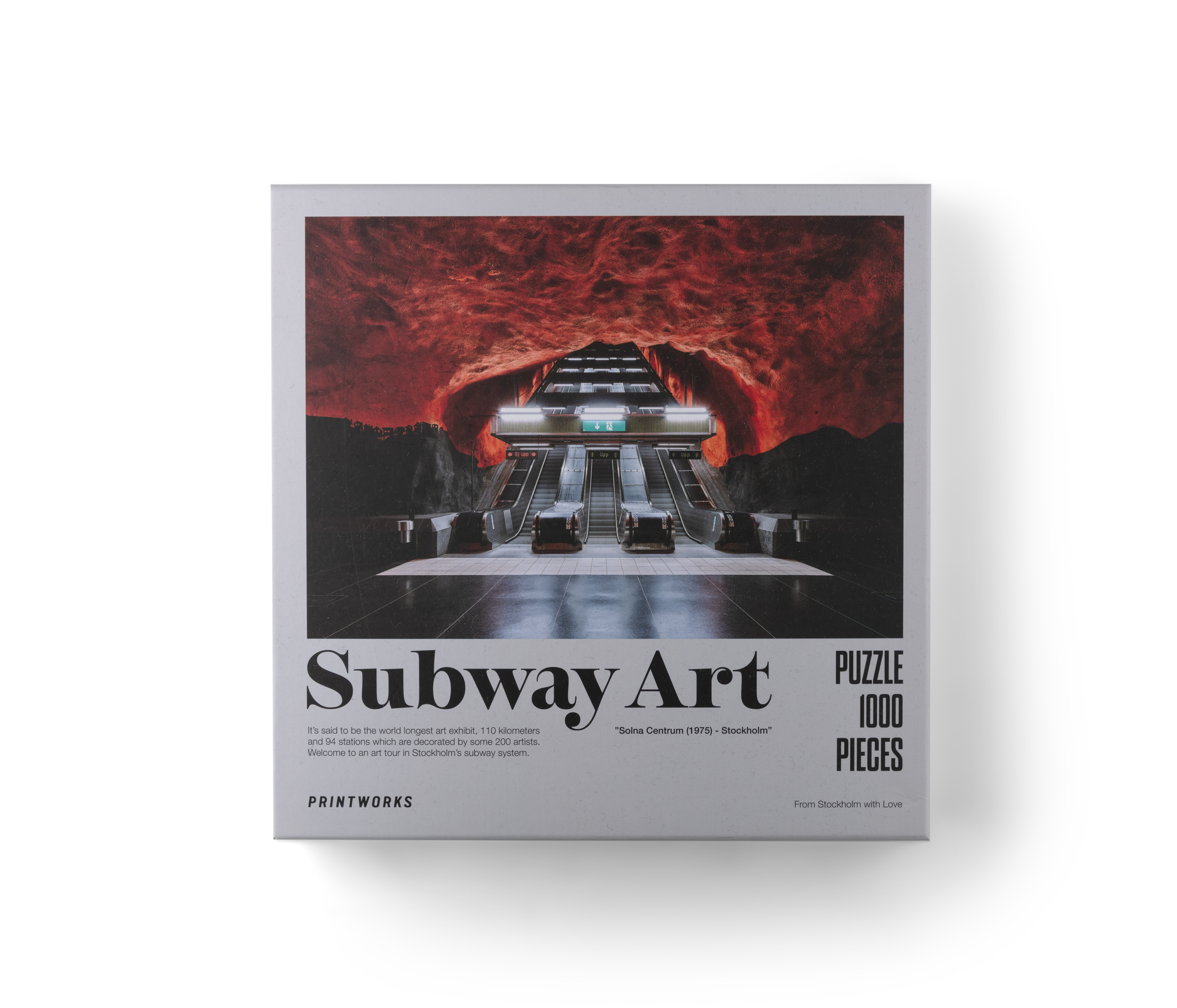 Puzzle Subway Art Fire