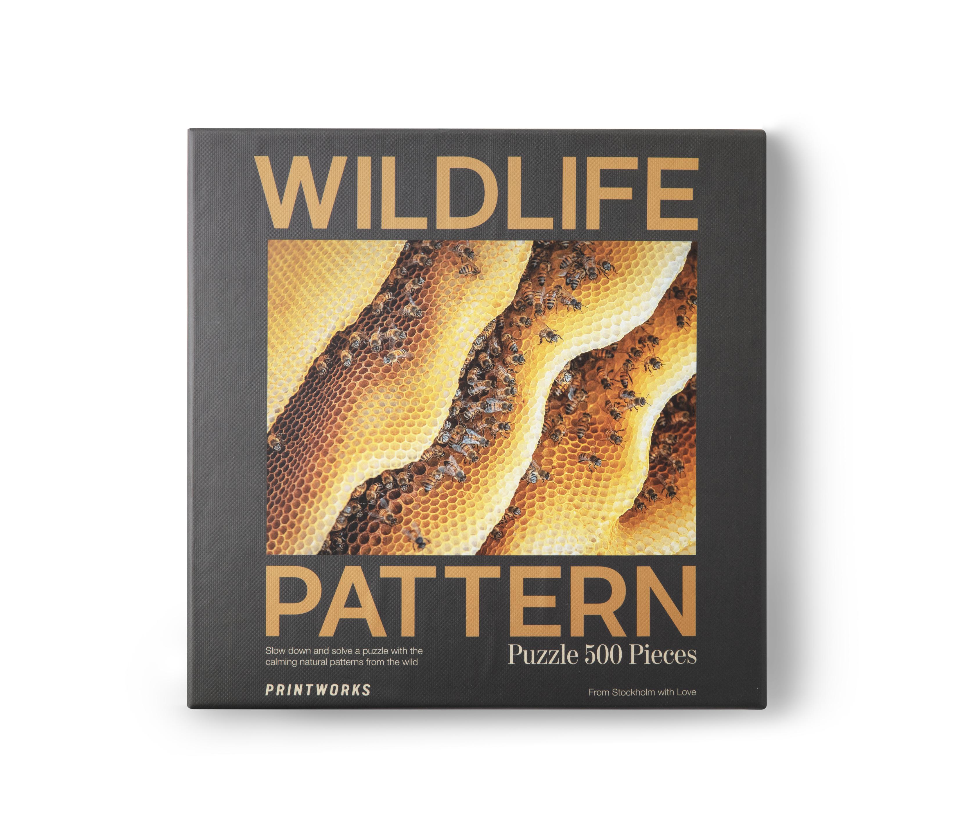 Puzzle Abeille Wildlife Pattern