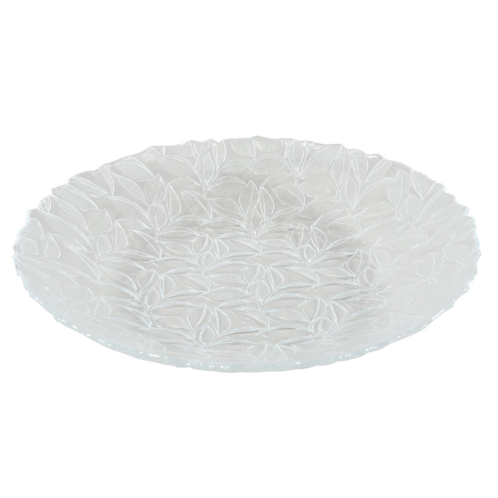 Centre de table en verre pressé 40 cm