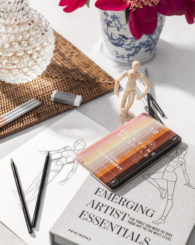 Boîte de 12 Crayons de Couleur Skin Tone