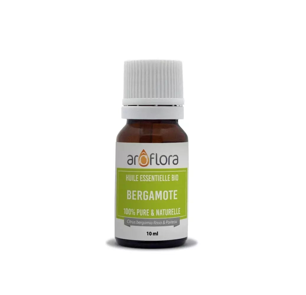 Huile essentielle bio de Bergamote 100% pure et naturelle 10ml