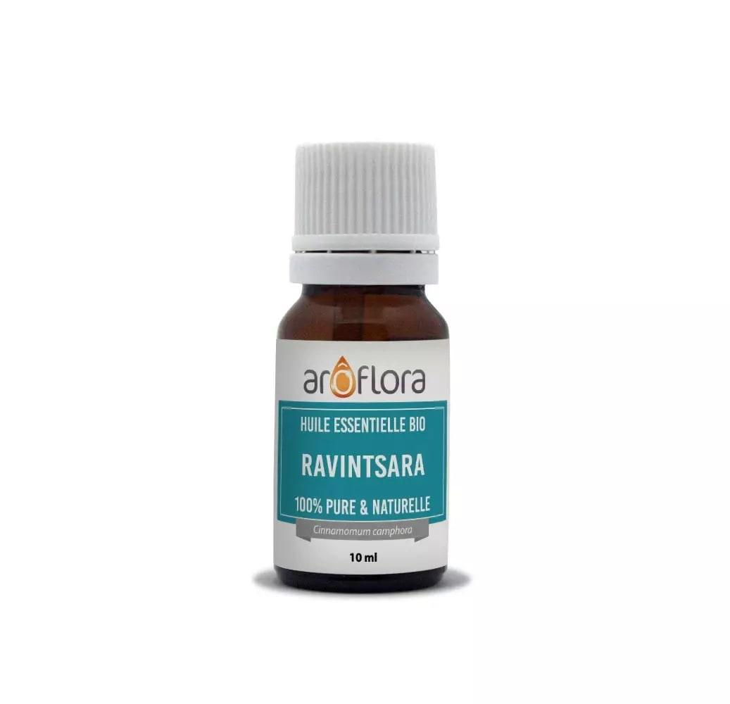 Huile essentielle bio de Ravintsara 100% pure et naturelle 10ml