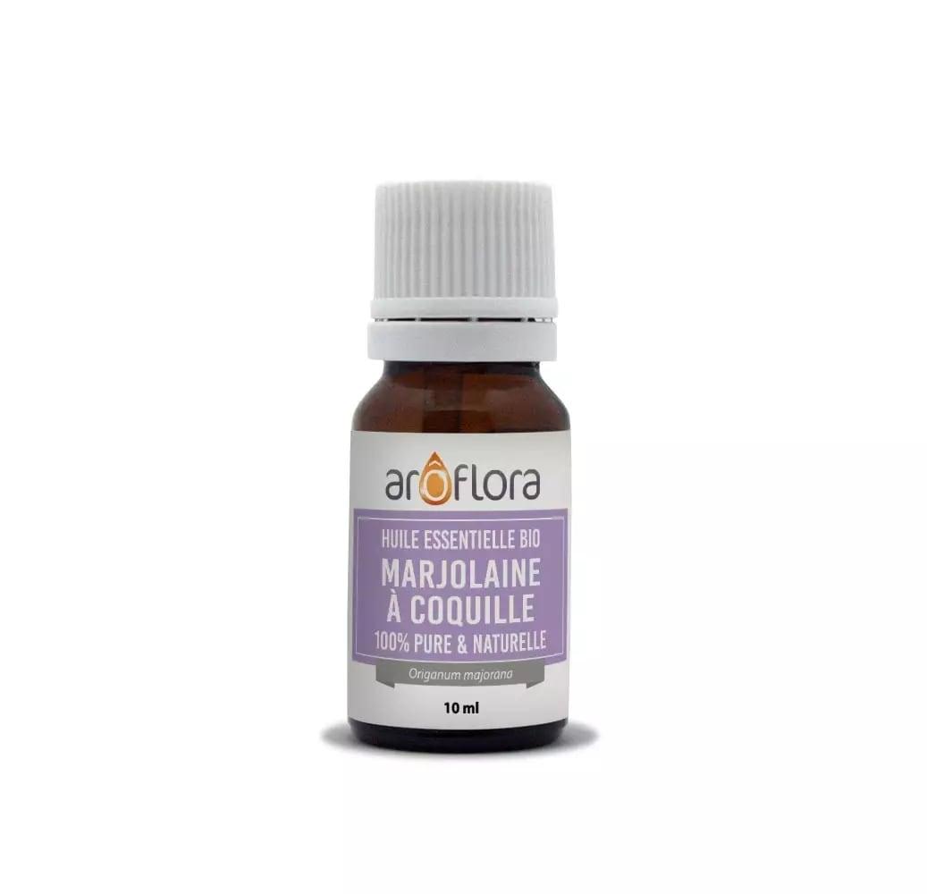 Huile essentielle bio de Marjolaine à coquilles 100% pure 10ml