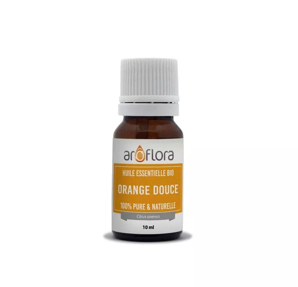 Huile essentielle bio de Orange douce 100% pure et naturelle 10ml