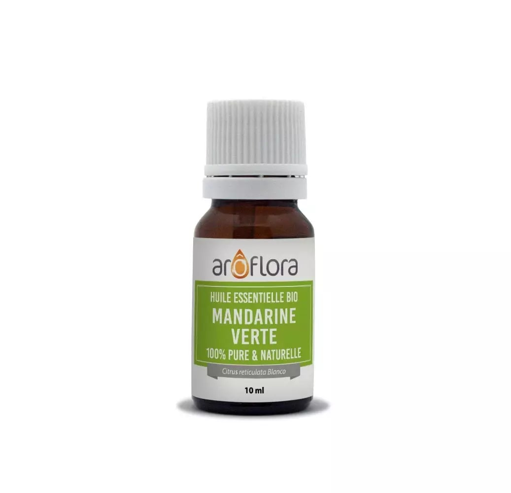 Huile essentielle bio de Mandarine verte 100% pure et naturelle 10ml