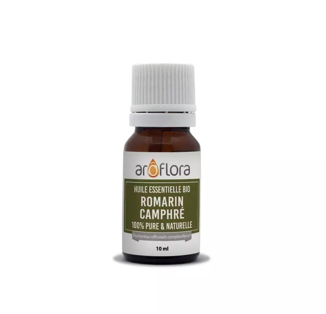 Huile essentielle bio de Romarin officinal camphré 100% pure 10ml