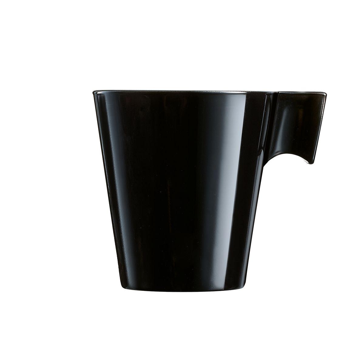 Tasse expresso noire 8cl