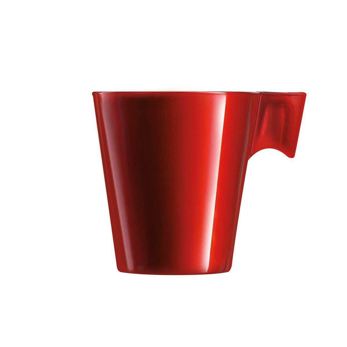 Tasse expresso rouge 8cl