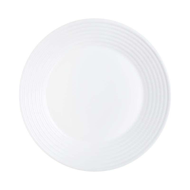 Grande assiette plate blanche D27cm