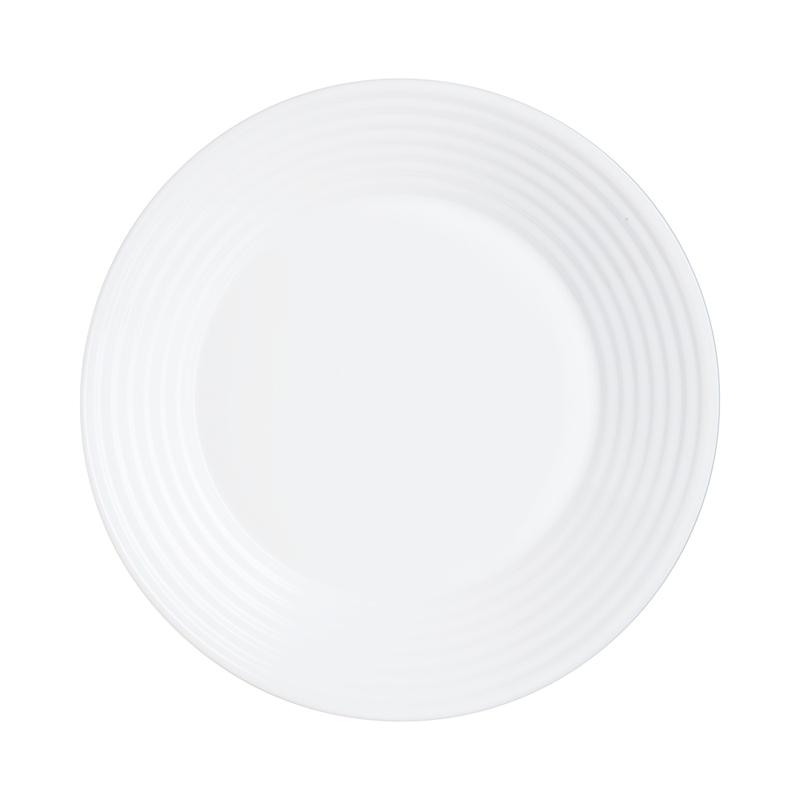 Assiette creuse ondulée blanche D23cm