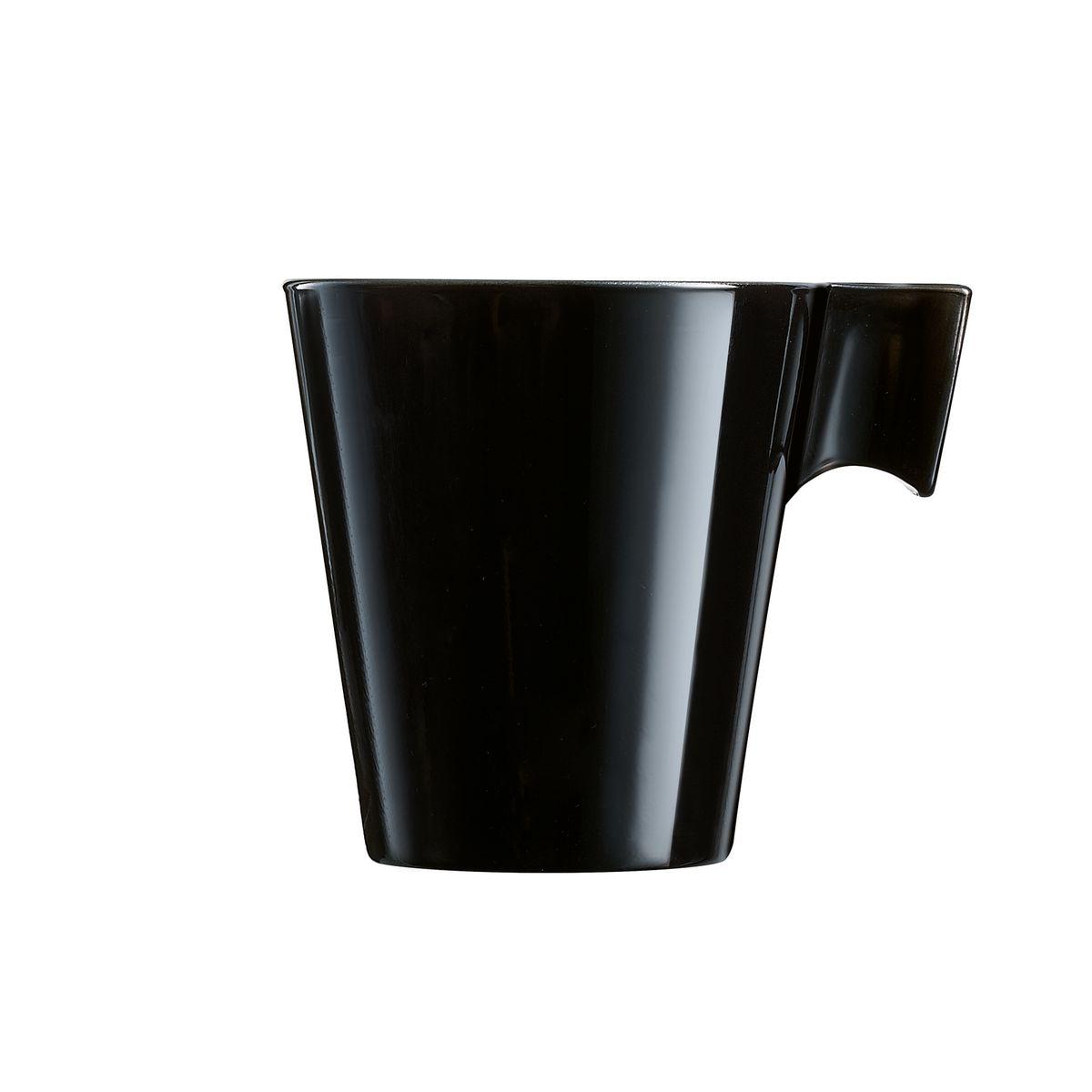 Tasse à thé noire 22cl