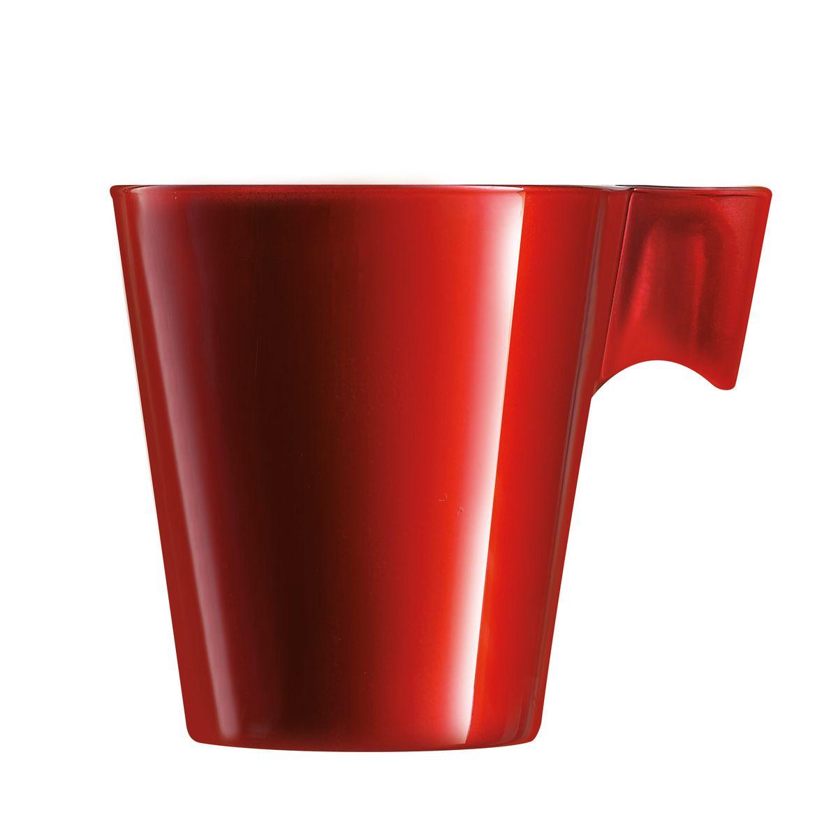 Tasse à thé rouge 22cl