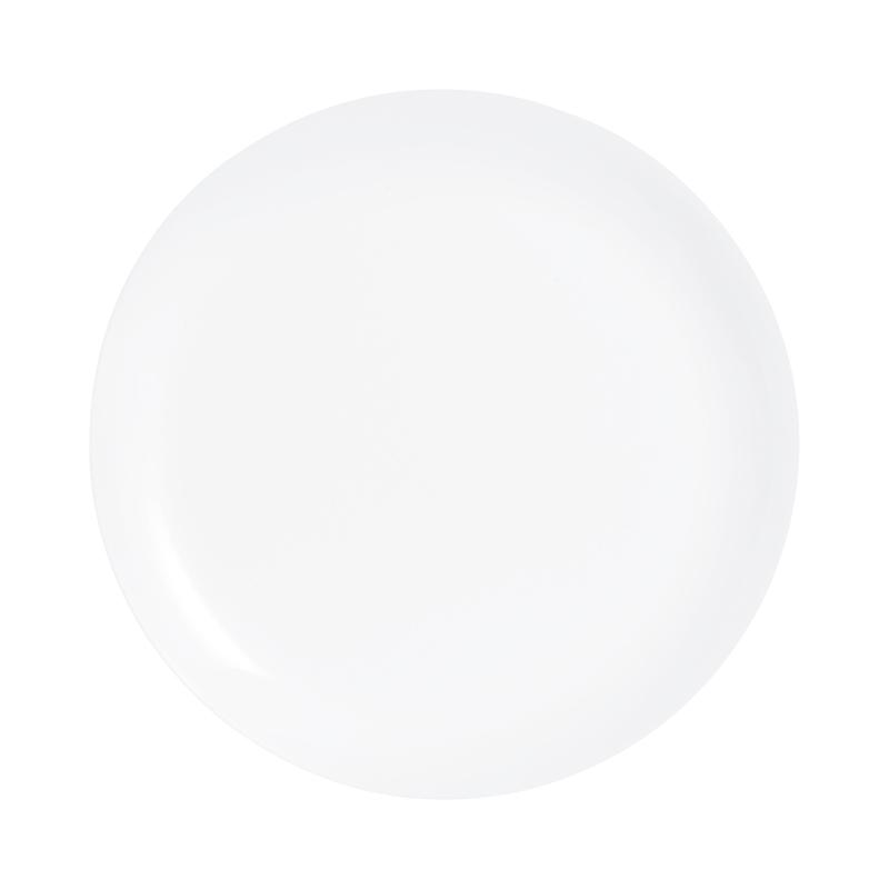 Assiette plate blanche D27cm