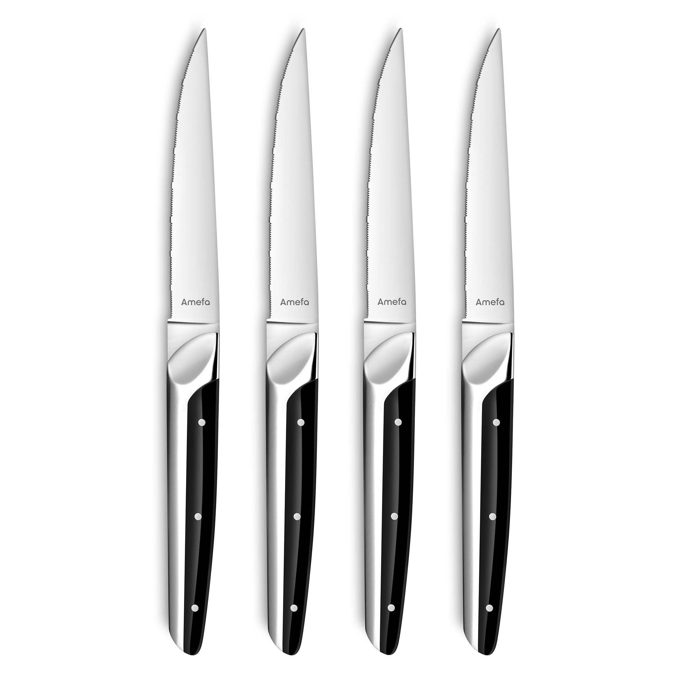 Coffret 4 couteaux steak