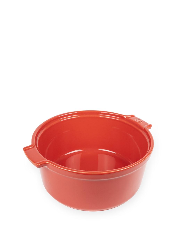 Moule à soufflé en céramique rouge D22cm
