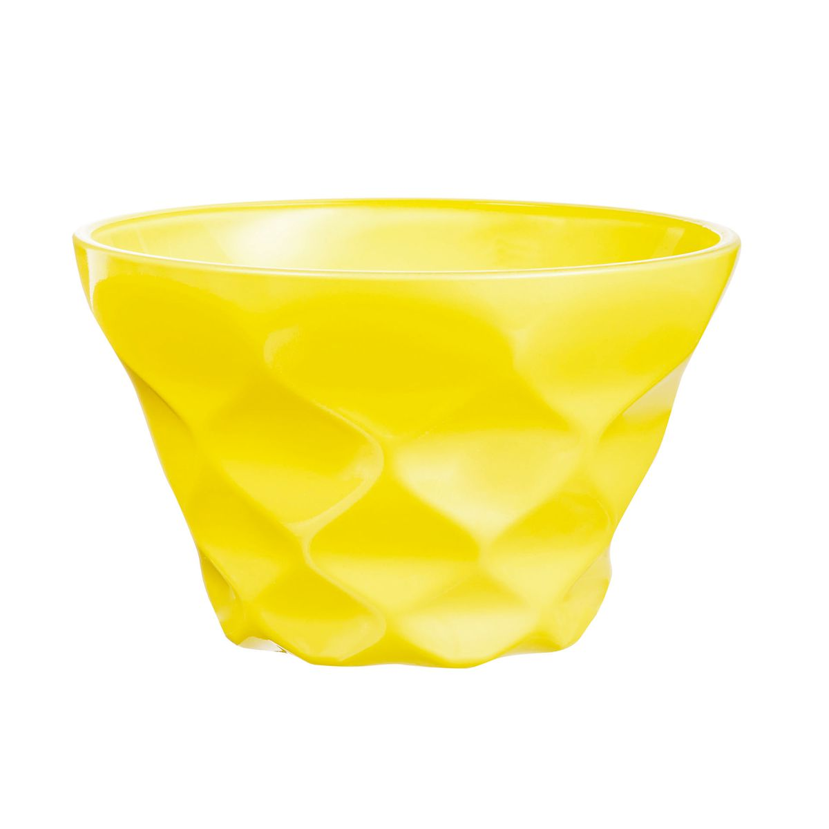 Coupe dessert jaune 20cl