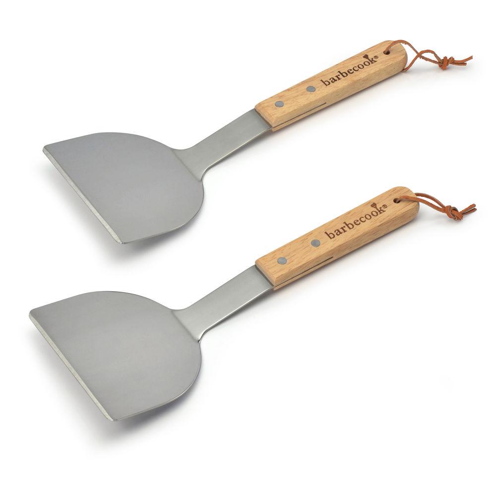 Lot de 2 spatules à plancha