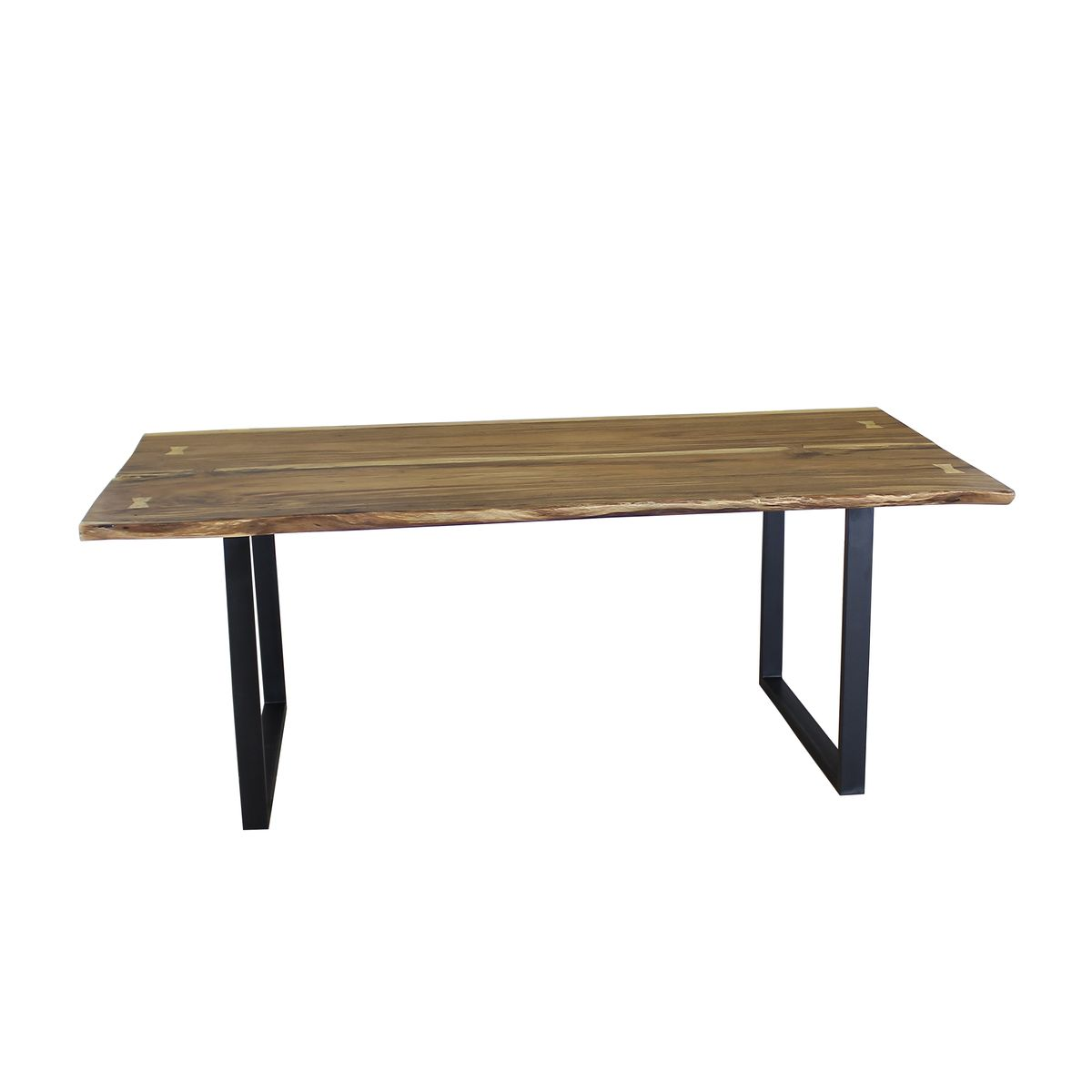 Table en bois d'acacia 2.5m