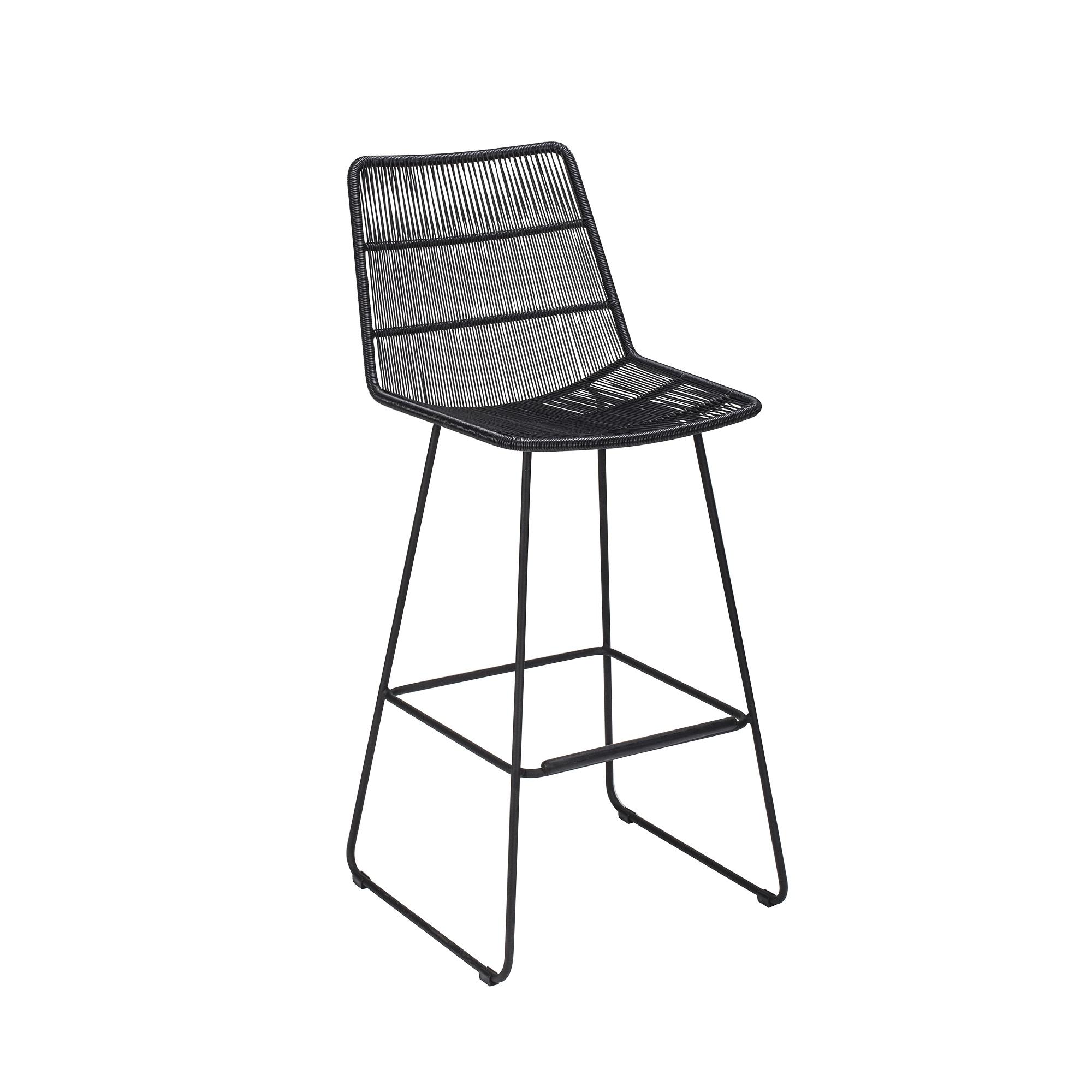 maison du monde Chaise de bar noir