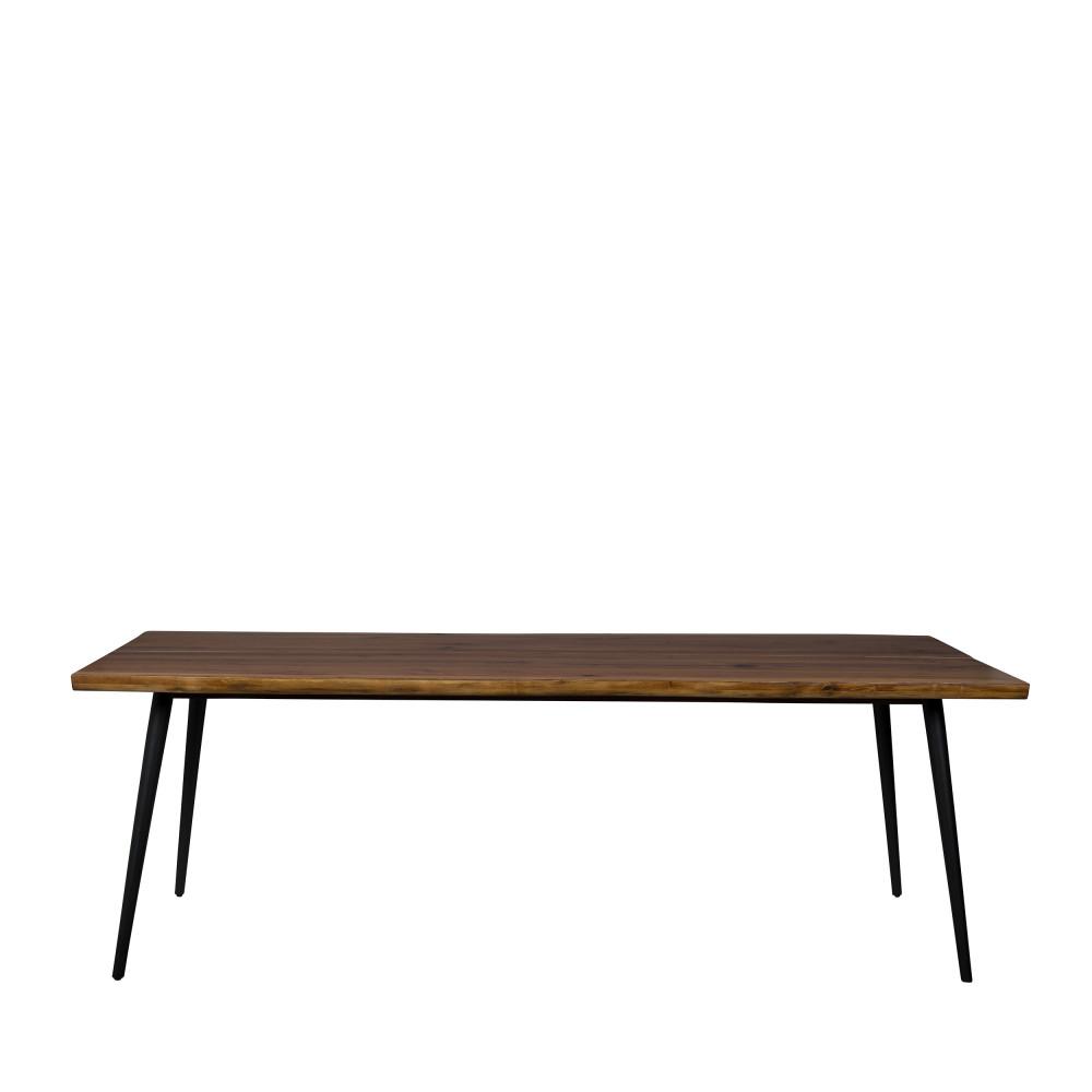 Table à manger en noyer 220x90cm