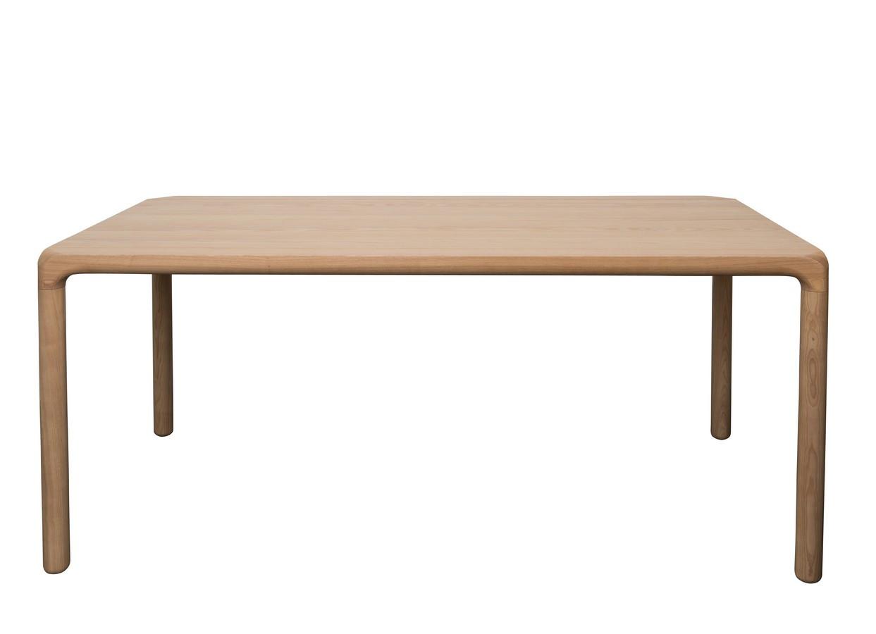 Table repas frêne naturel L180