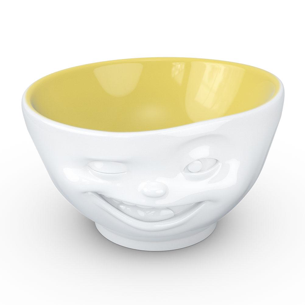 Bol en porcelaine Clin d'oeil 500ml