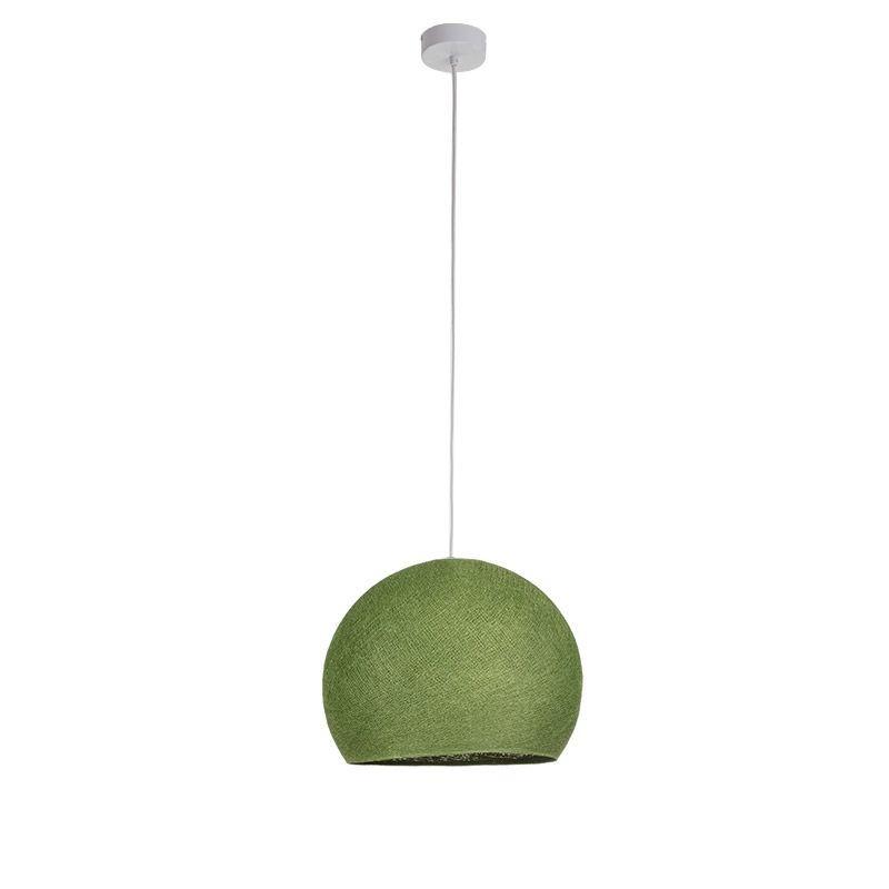 Suspension simple coupole M vert olive