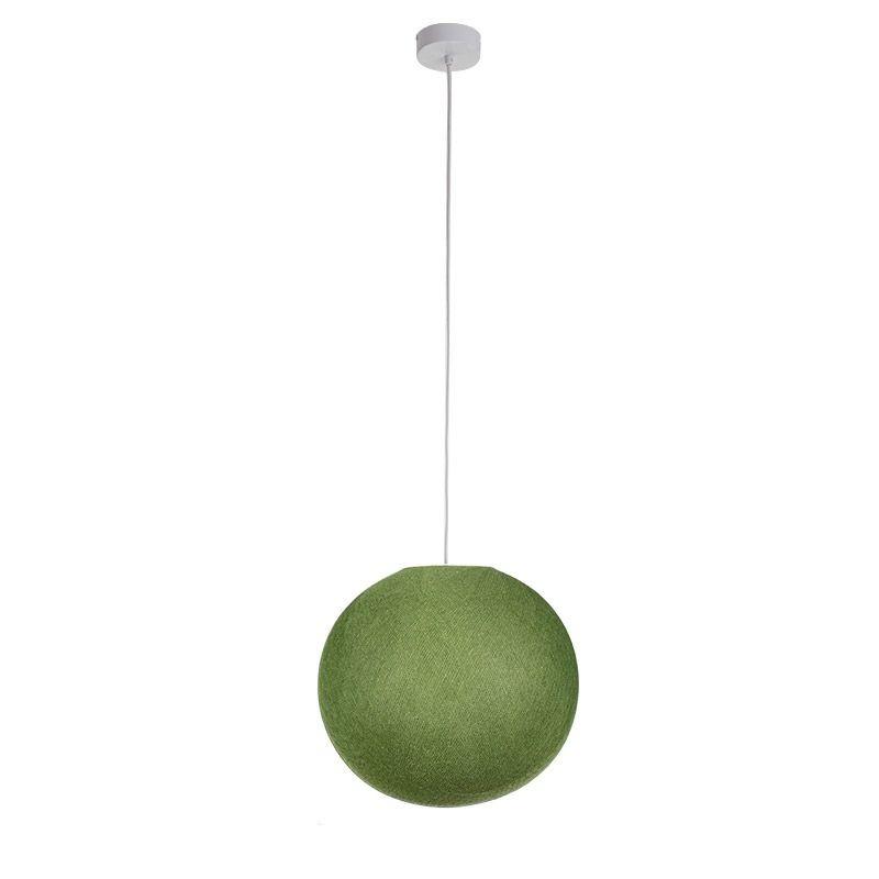 Suspension simple globe M vert olive