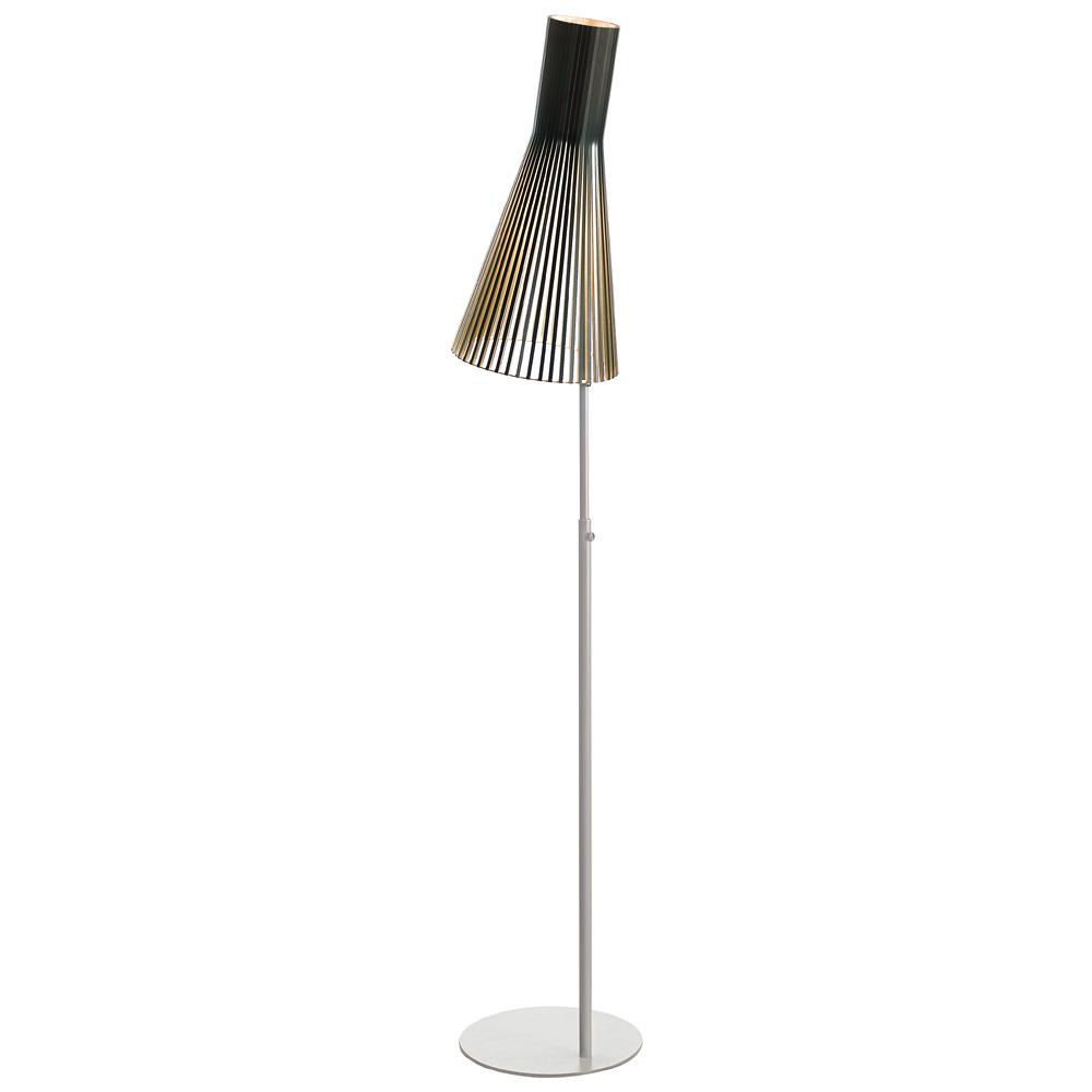 Lampadaire en bouleau noir H185cm
