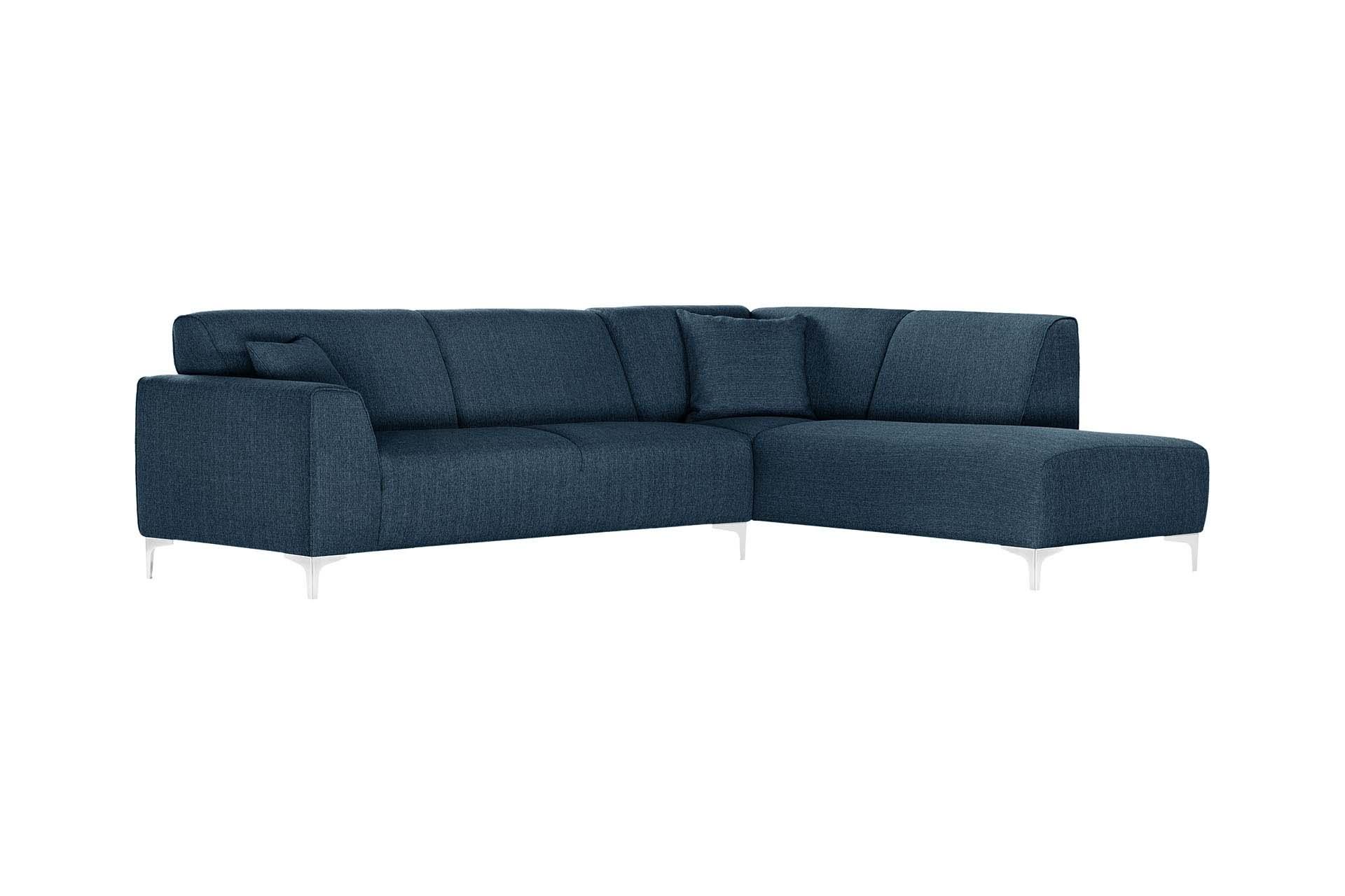 Canapé d'angle 5 places Bleu Design