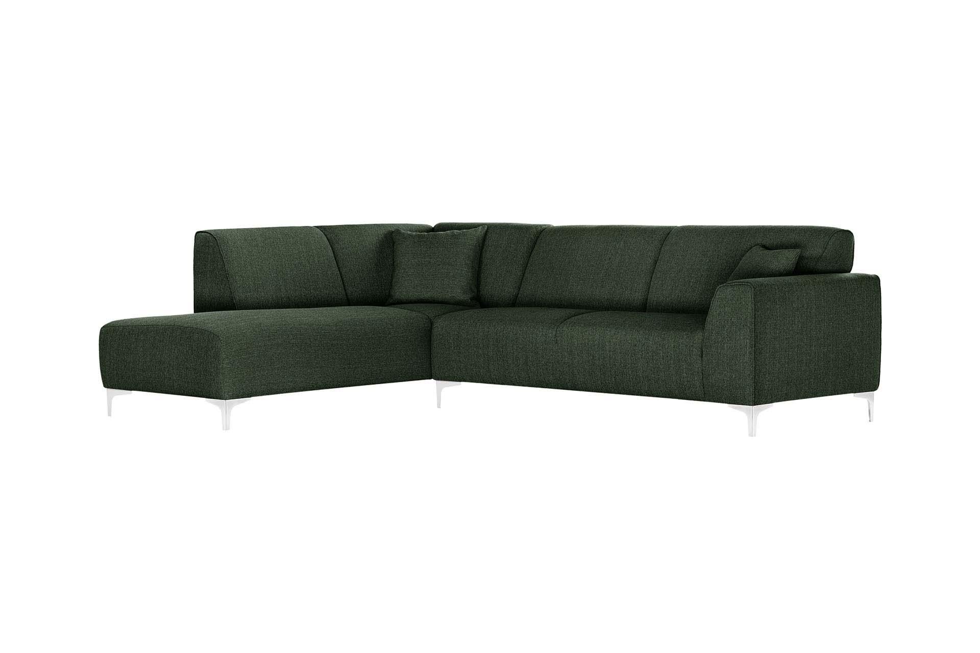 Canapé d'angle 5 places Design Vert