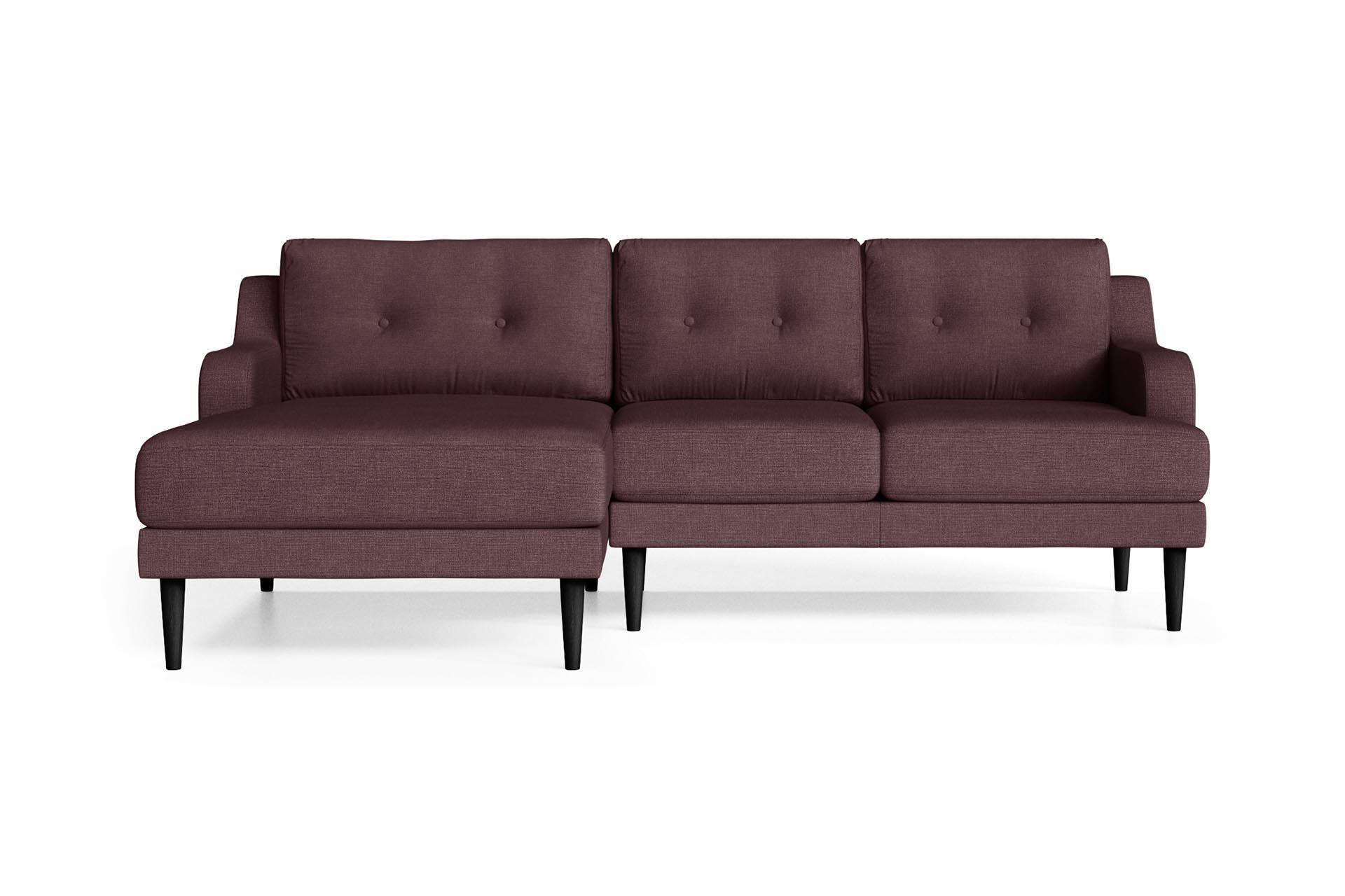 Canapé d'angle 4 places Contemporain Confort