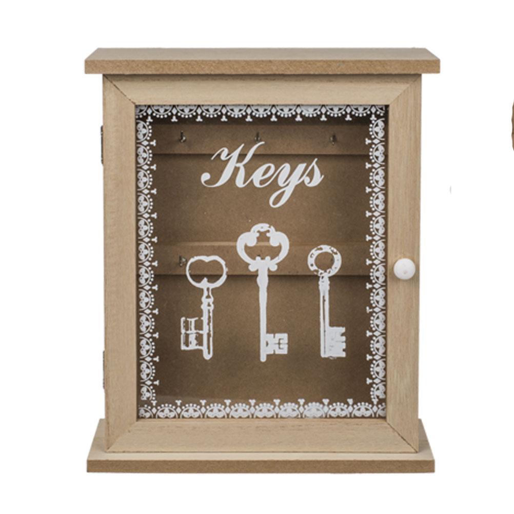 Boîte rectangulaire à clefs 22,5x27cm