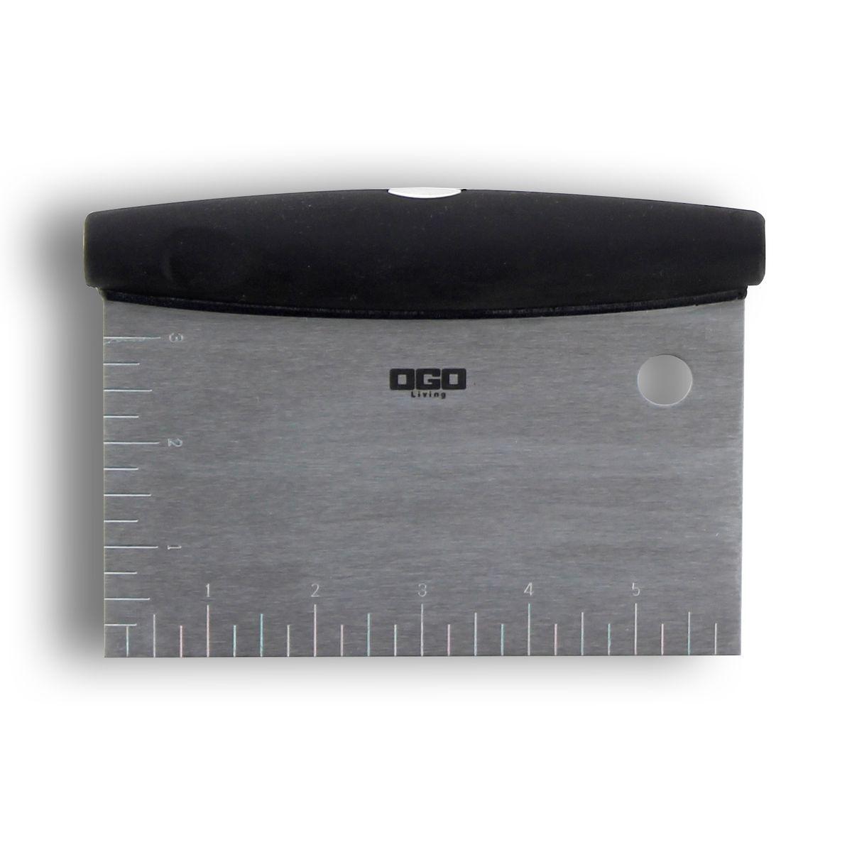 Large spatule à gateau en acier inoxydable 16 x 11 cm